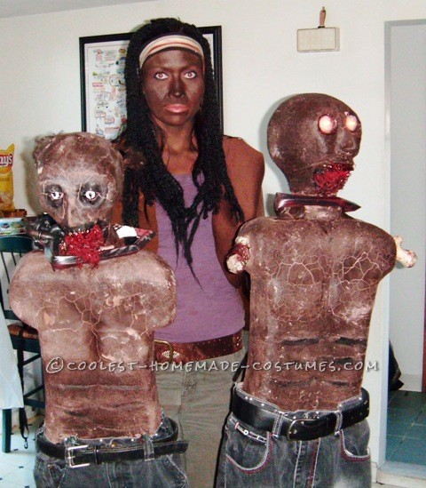Creepy Michonne Costume from The Walking Dead - 7