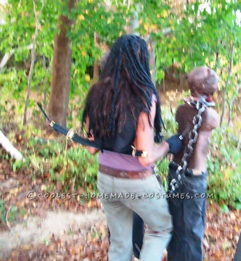 Creepy Michonne Costume from The Walking Dead - 5