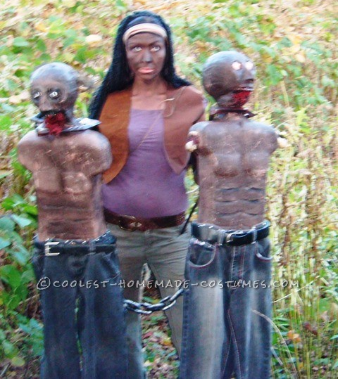 Creepy Michonne Costume from The Walking Dead - 4