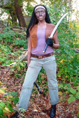 Creepy Michonne Costume from The Walking Dead