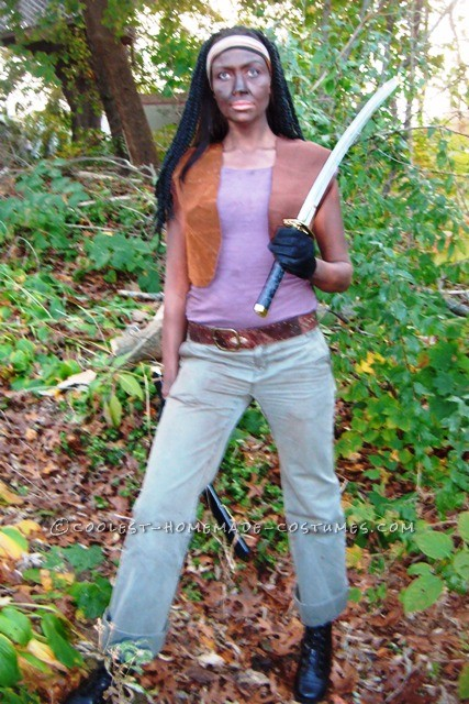 Creepy Michonne Costume from The Walking Dead - 2