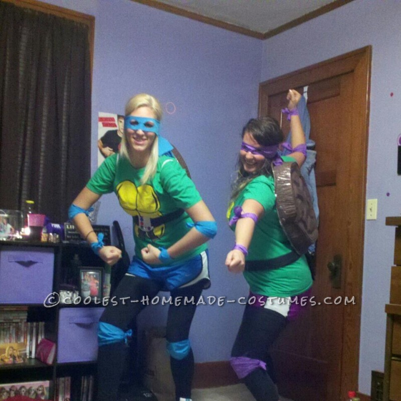 Donatello and Leonardo