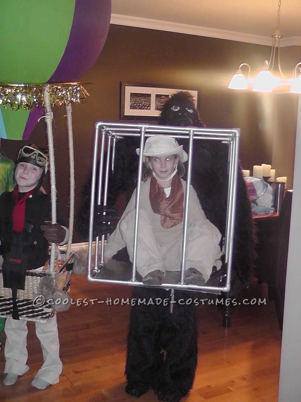 Man in a Cage Illusion Costume