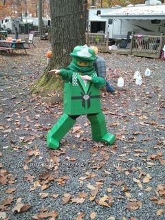 Most Wanted Lego Ninjago Costume - Ninjago Lloyd
