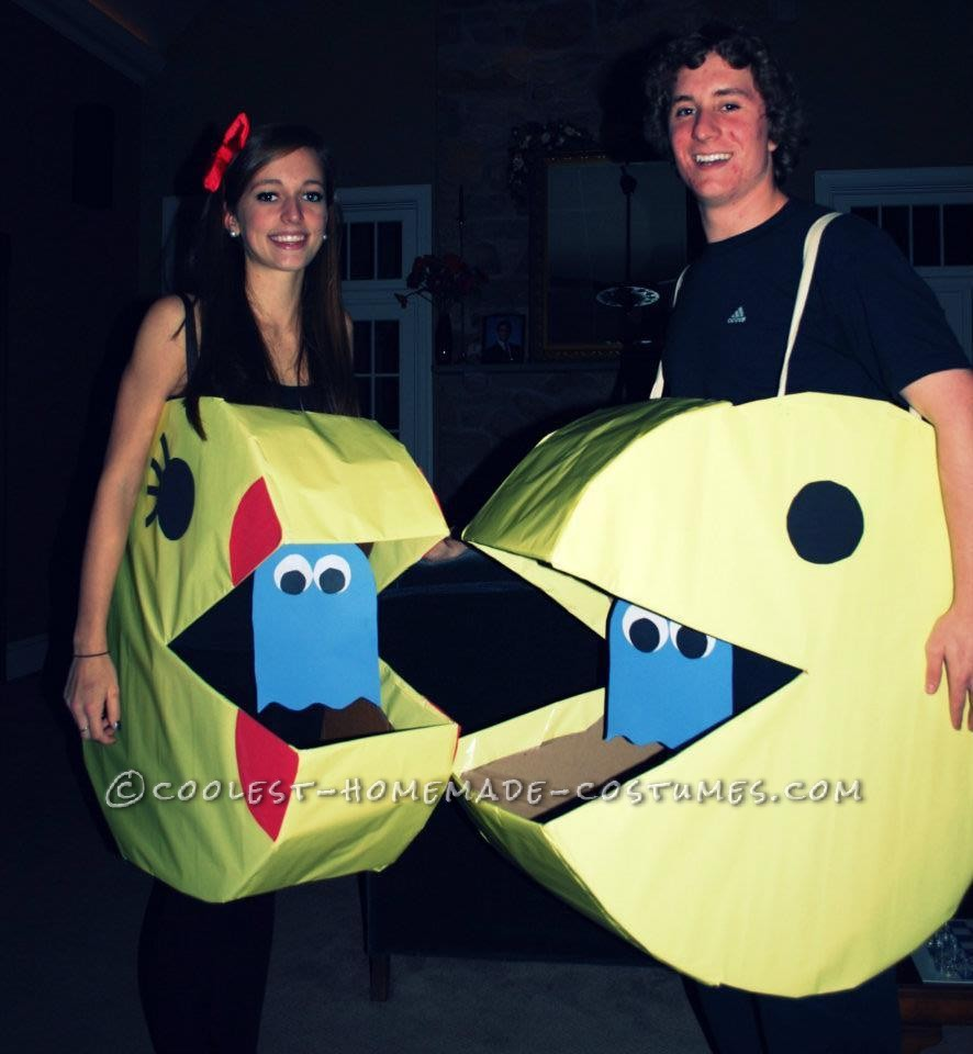 Coolest Mr. and Mrs. Pacman Couple Halloween Costume