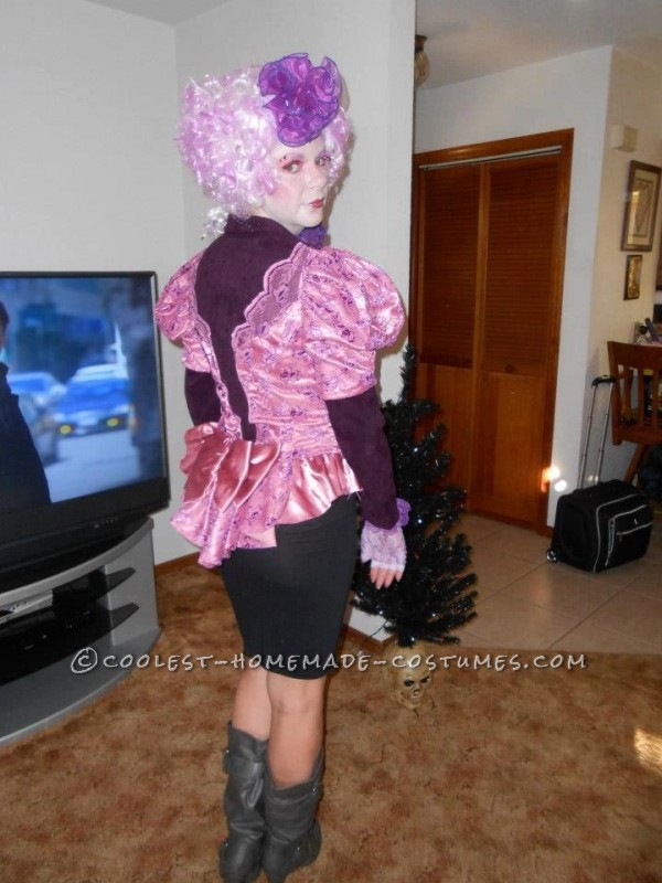 Coolest Homemade Effie Trinket from The Hunger Games Costume - 2