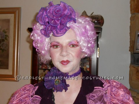 Coolest Homemade Effie Trinket from The Hunger Games Costume: This  Effie Trinket from The Hunger Games costume cost a total of $10 to make, it's amazing what you can find in you own house, I decided to do Effi