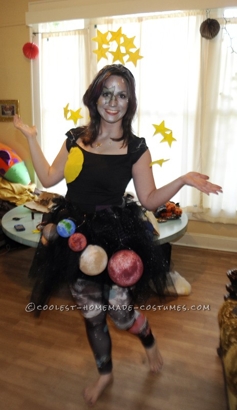 Creative Homemade Ms. Universe Costume - 2
