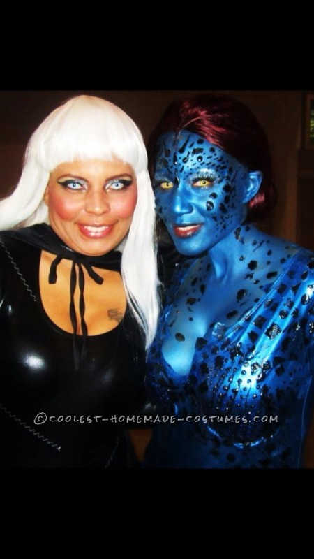 My Alter-Ego Mystique Homemade Halloween Costume - 3