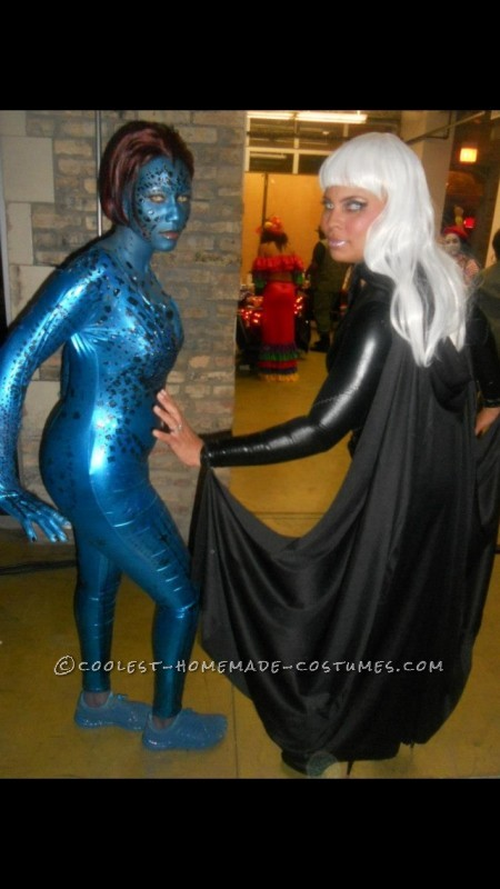 My Alter-Ego Mystique Homemade Halloween Costume - 2