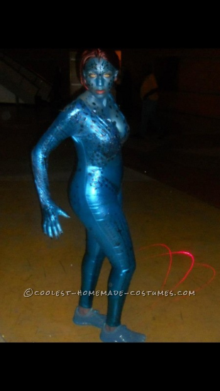My Alter-Ego Mystique Homemade Halloween Costume - 1