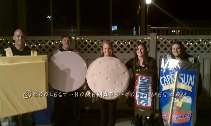 One-of-a-Kind Group Lunchable Costume