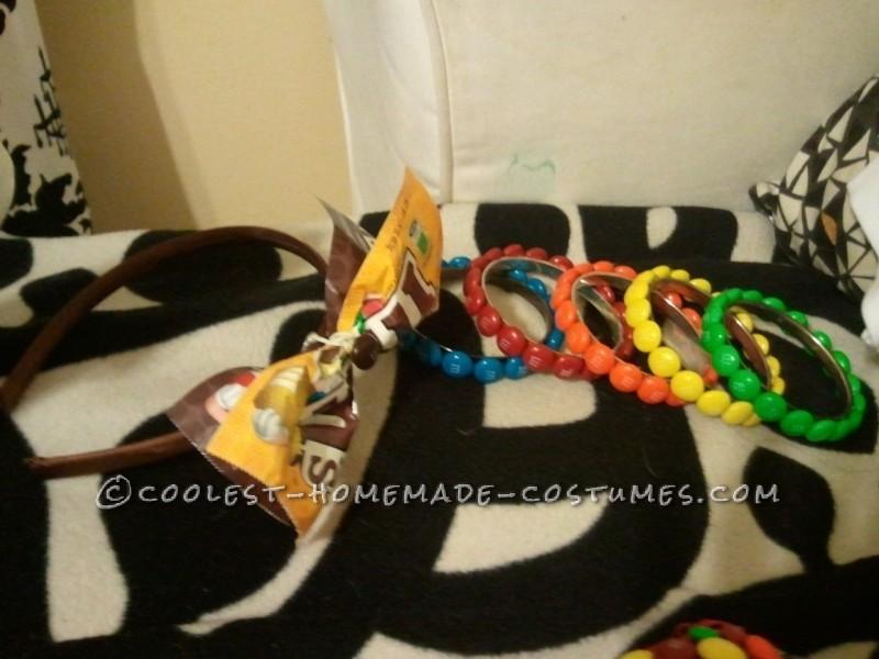the headband and bangles