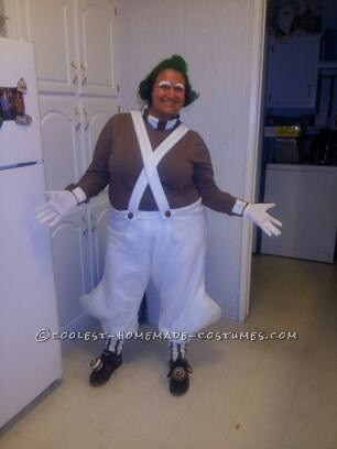 Homemade Oompa Loompa and Willy Wonka Couple Costume (Won 1st Place in 3 Contests!) - 6