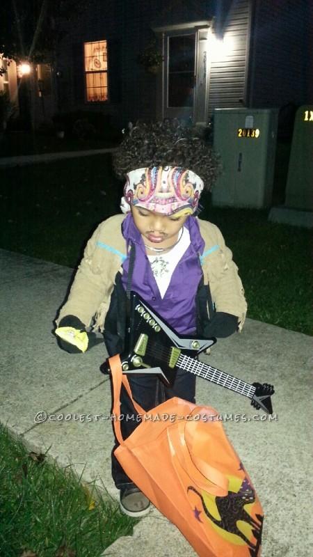 Original Homemade Jimi Hendrix Halloween Costume