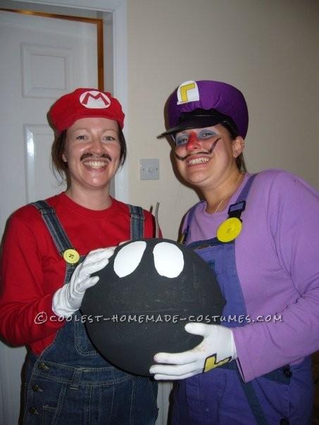 Original Waluigi Mario Kart Costume - 2