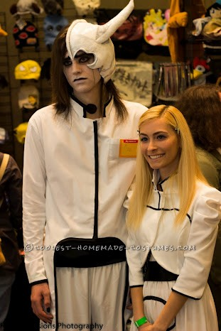Orihime Inoue and Ulquiorra Schiffer Couple Costume from Bleach