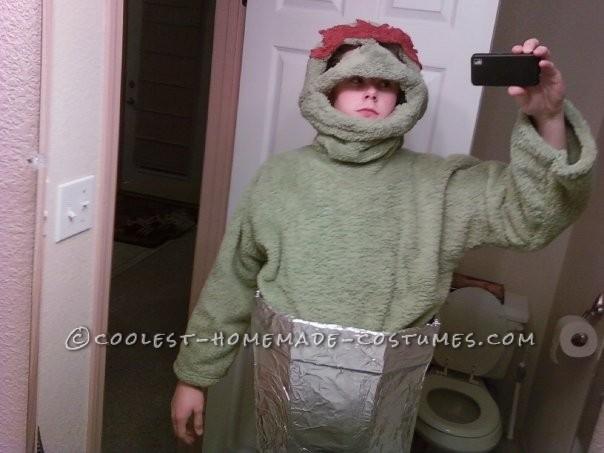 Coolest DIY Oscar the Grouch Costume - 1