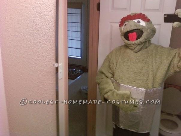 Coolest DIY Oscar the Grouch Costume