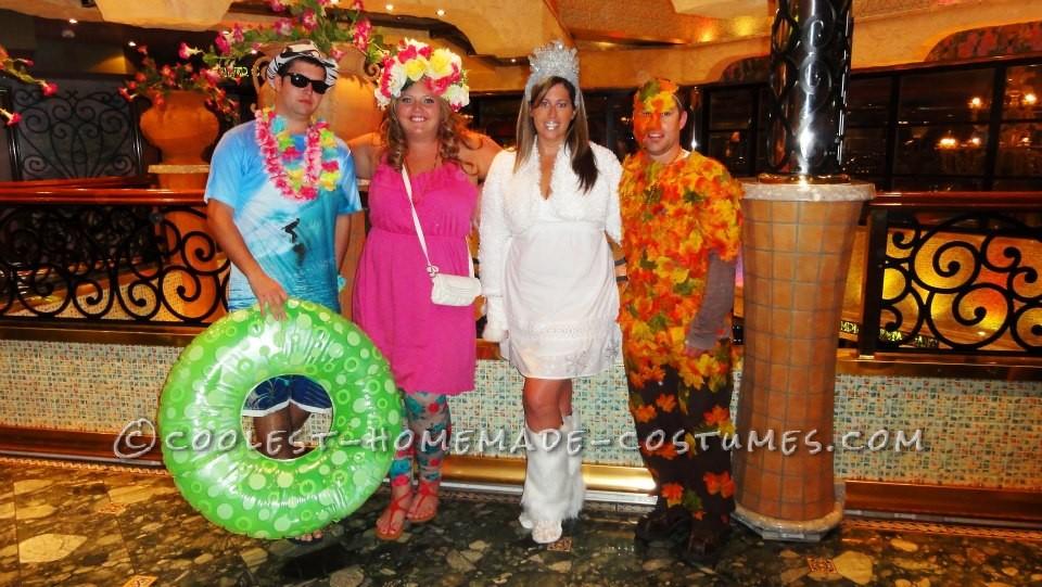 Homemade Four Seasons Cruisin' Group Costume
