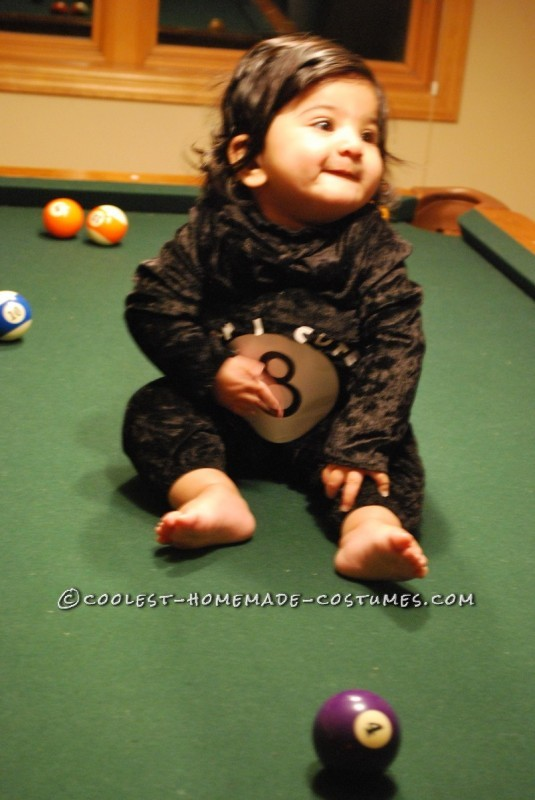 Our Little Magic 8 Ball Baby Costume - 4
