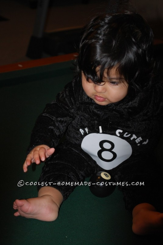 Our Little Magic 8 Ball Baby Costume - 3