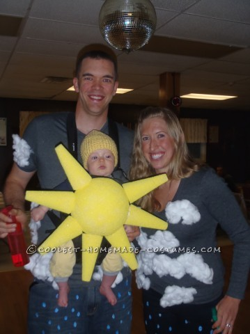 Partly Cloudy With a Chance of Rain Family Costume - Baby Costume Ideas