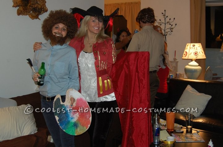 Perfect Bob Ross Costume for a Female