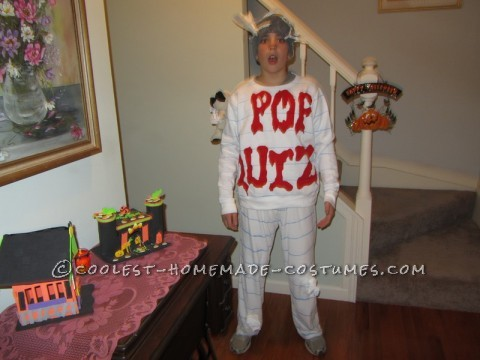 Original Homemade Costume Idea: Scary Pop Quiz