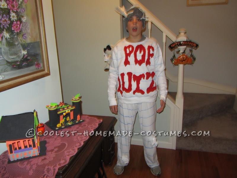 Original Homemade Costume Idea: Scary Pop Quiz
