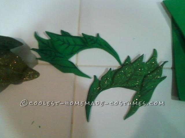 Coolest Handmade Poison Ivy Halloween Costume - 6