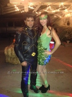 Coolest Handmade Poison Ivy Halloween Costume - 3