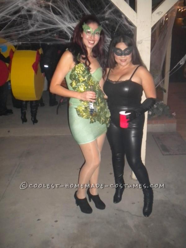 Coolest Handmade Poison Ivy Halloween Costume - 1
