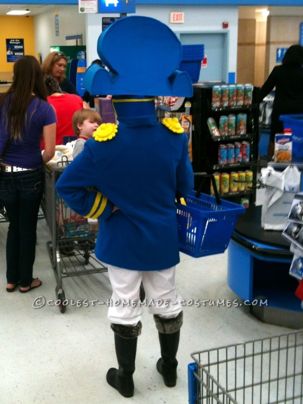 Realistic Cap'n Crunch Homemade Halloween Costume