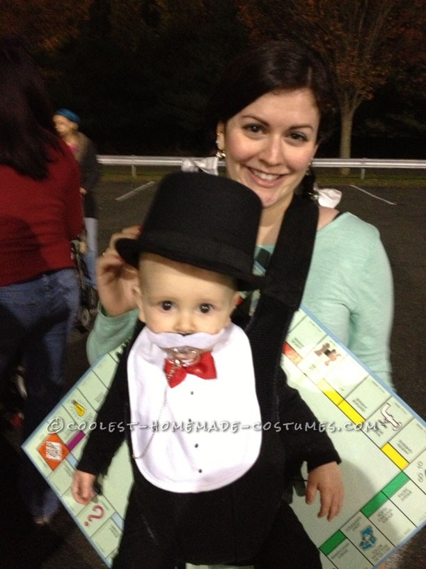 Coolest Baby Halloween Costume: Rich Uncle Pennybags from Monopoly