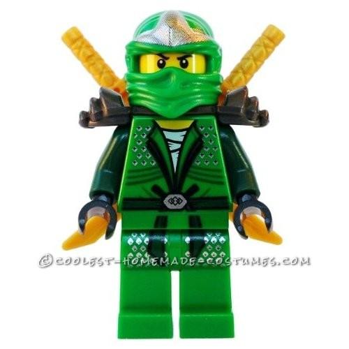 Lego Green Ninja Minifig