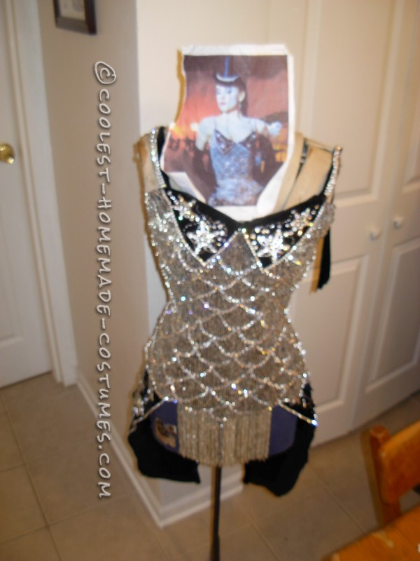 Homemade Satine Costume from Moulin Rouge