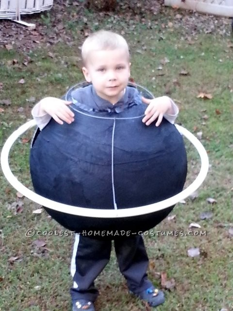 Great Saturn Boy Homemade Halloween Costume