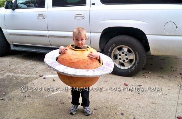 Great Saturn Boy Homemade Halloween Costume