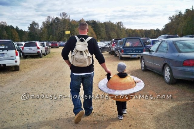 Saturn boy and Dad