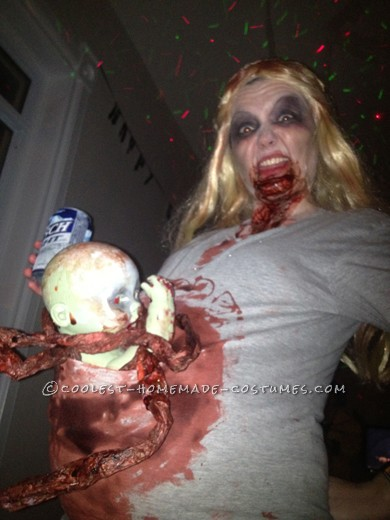 I absolutely love all things zombie and have been one for Halloween many times. This year I wanted to make it a bit different so I decided to be a pr