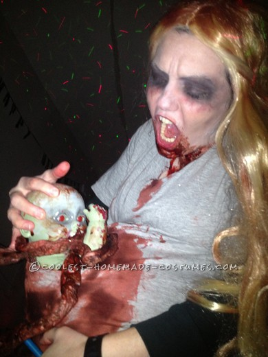 Scariest Pregnant Zombie Costume Ever! - 2