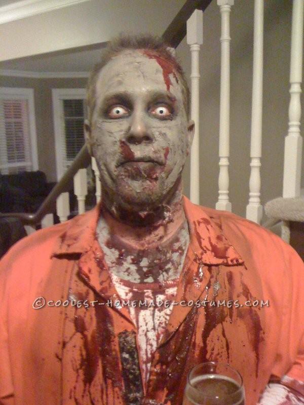 costumes zombie homemade.
