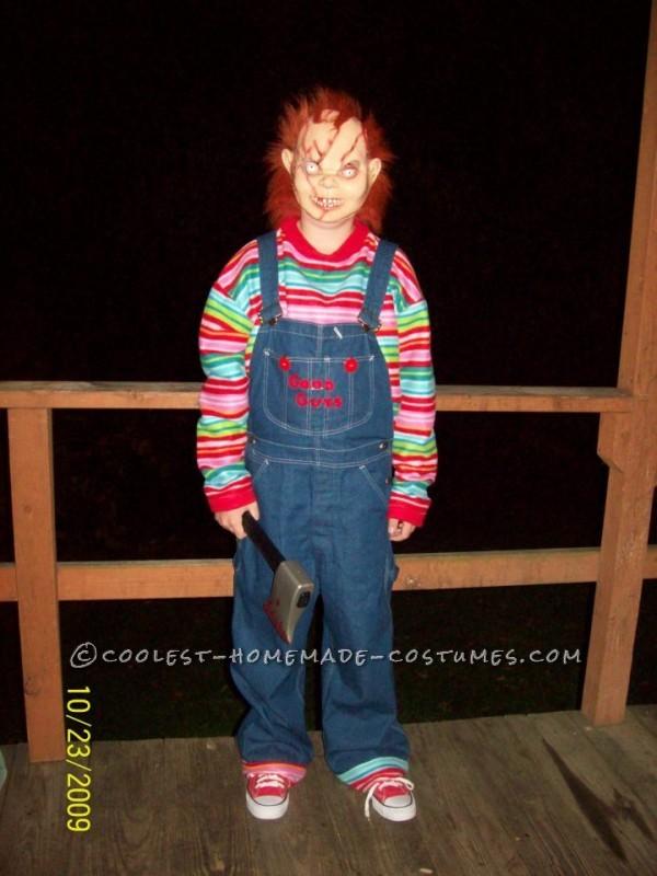 Creepy Seed of Chucky Homemade Halloween Costume - 1