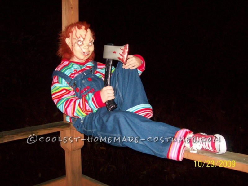 Creepy Seed of Chucky Homemade Halloween Costume - 2