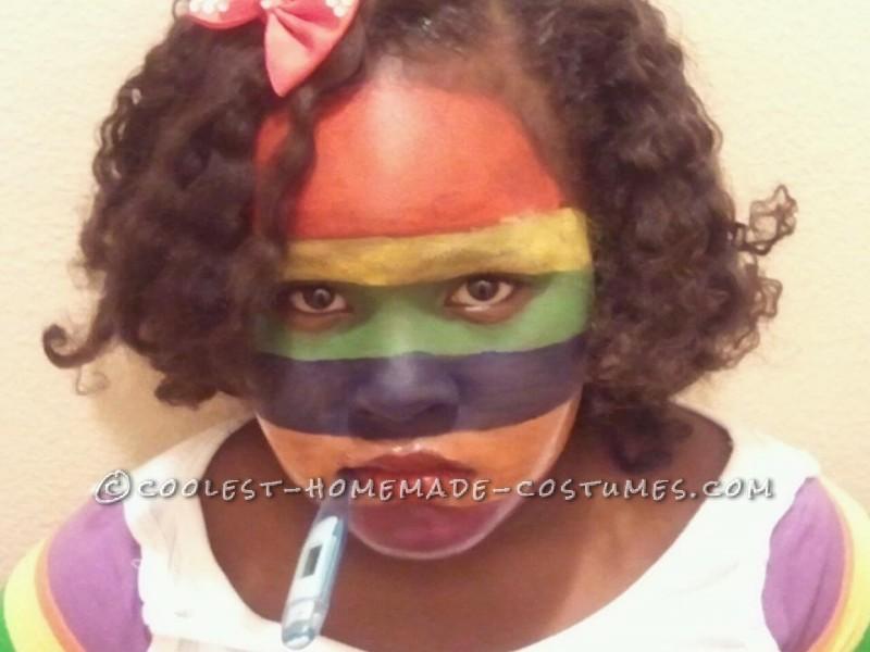 "Camilla Cream has ""A Bad Case of Stripes"""