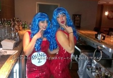 Sexy Do-It-Yourself Thing 1 and Thing 2 Costumes - 1