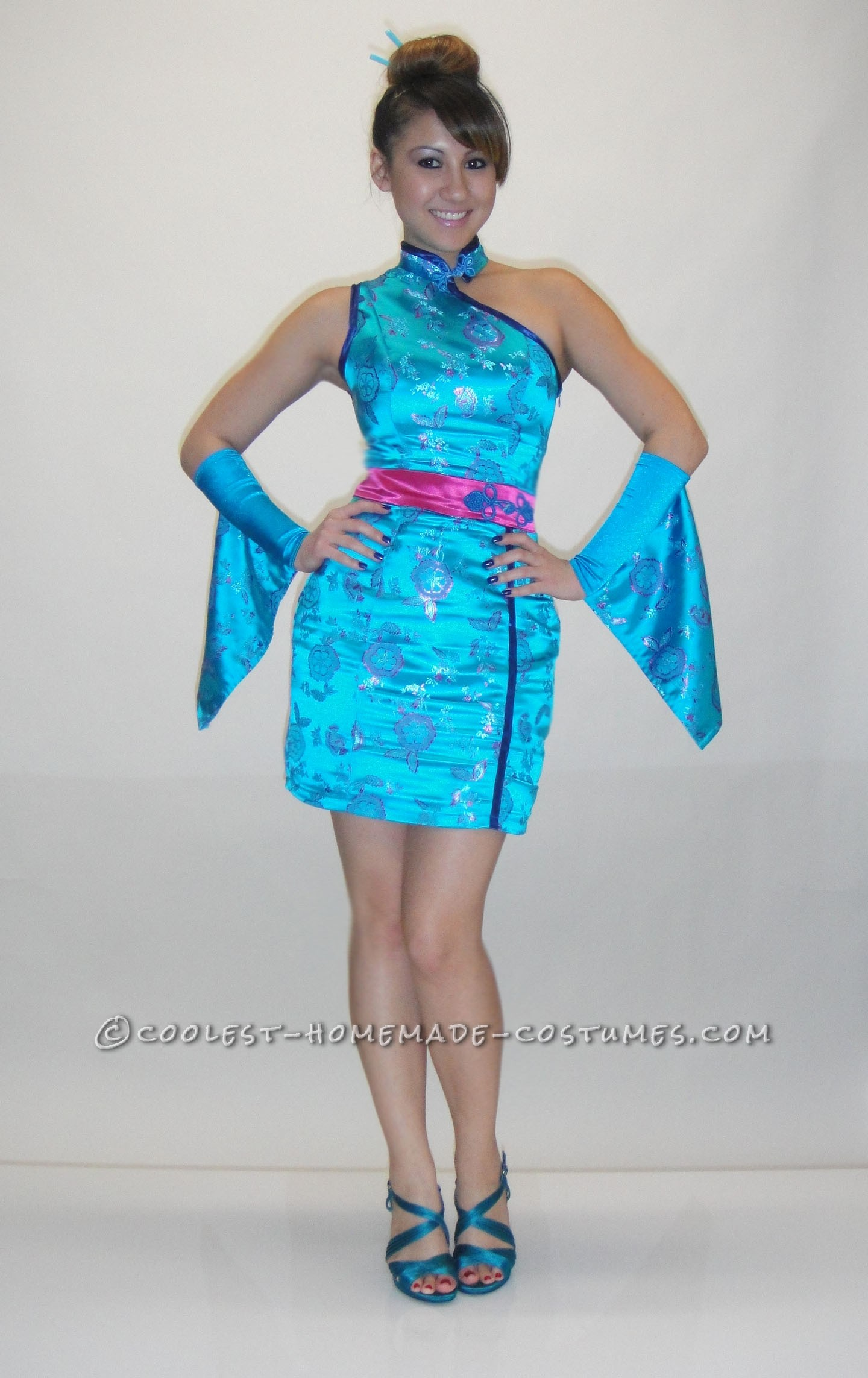 Sexy Homemade Geisha Costume