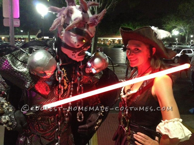 Awesome Skovslayer Undead Monster Costume