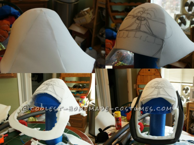 making the head